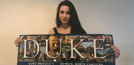 3515:Aprovada em 17 universidades dos EUA escolhe a Duke