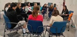 - Estudantes conversam sobre Jornalismo na Unisinos