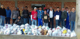 3658:Festa Junina arrecada mais de 600 kg de alimentos