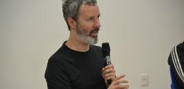 3955:Autor Michel Laub ministra palestra para turmas da 3ª série