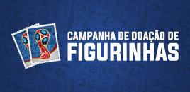 4450:Campanha arrecada figurinhas da Copa do Mundo