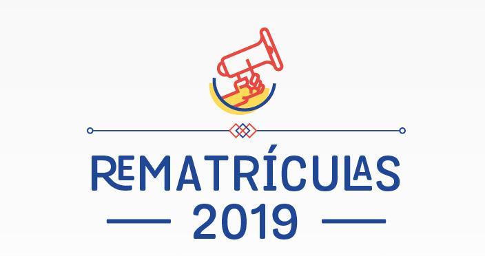 - Rematrículas para 2019 começam em 10 de outubro