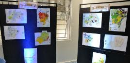 4080:Biblioteca recebe projeto Mapas Literários, da 1ª série do EM