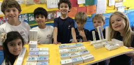 3985:Turmas do 1º ano produzem maquetes da sala de aula