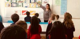 4655:Aulas de Música trabalham os hinos com os estudantes