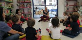 4041:Crianças do Nível 1C visitam a Biblioteca Kids