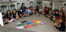 4013:Crianças do Nível 3C têm aula no Laboratório de Química