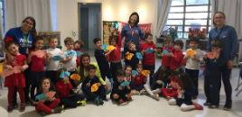 4632:Crianças do Nível 4C têm oficina de Origami