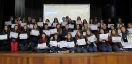 4589:Estudantes recebem medalhas e certificados da OIMSF