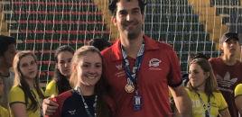 4547:Estudante da 1ª série do EM jogará voleibol em Malta