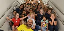 3981:Educação Infantil recebe visita da Creche Recanto dos Piás