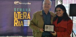 3669:Patrono Dilan Camargo abre a Semana Literária