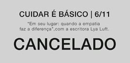 4044:Encontro do Cuidar é Básico de 06/11 é cancelado