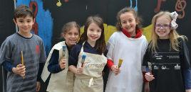 - Estudantes preparam o colégio para os XLIV Jogos Farroupilha