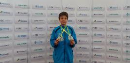 4021:Estudante do 5º ano conquista medalhas de prata no tênis