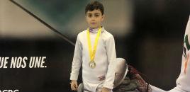 4477:Estudante do 3º ano é campeão gaúcho de esgrima