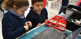 2559 - Estudantes aprendem a criar rob�s em workshop