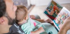 1422:Leitura para bebês, sim!
