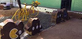 1315:Alunos de escola pública do DF usam materiais reciclados para revitalizar espaços