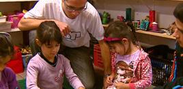 - Crianças de creche da USP assistem a aulas de robótica