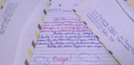 - Projeto incentiva crianças a se comunicarem por cartas