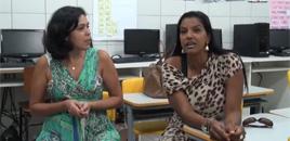- O desafio em sala: 'não existe educação sem exemplo'