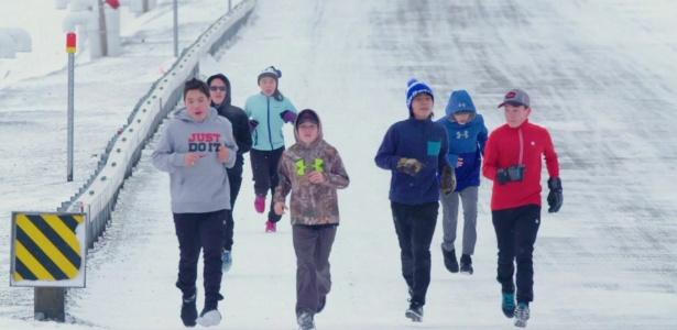 1391:Maratona' no �rtico para ter aulas com 'melhor professora do mundo'