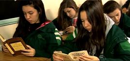 - Escola do RS transforma leitura em tarefa de aula