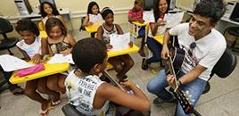 1188:Música ajuda alunos no aprendizado da matemática