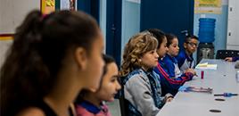 - Participação dos estudantes na escola